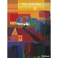 Ton Schulten 2021 - Kunst-Kalender - Poster-Kalender - 48x64
