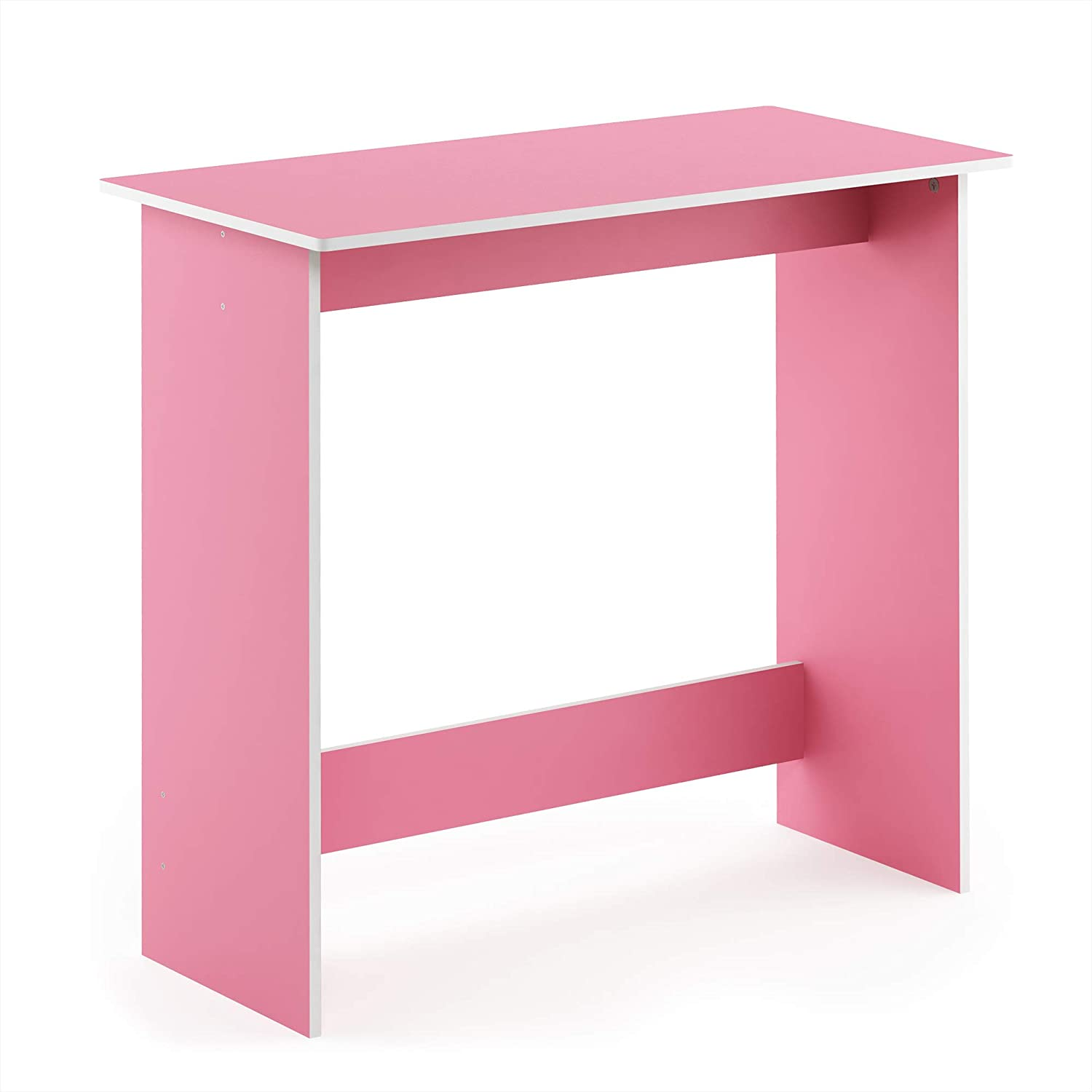 FURINNO Simplistic Study Table, Pink