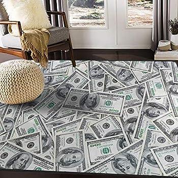 Amazon Com Home Dynamix Big Money 100 Dollar Bill Area