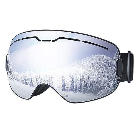 d35fd4dcb70a Amazon.com   OMORC OTG Ski Snow Goggles