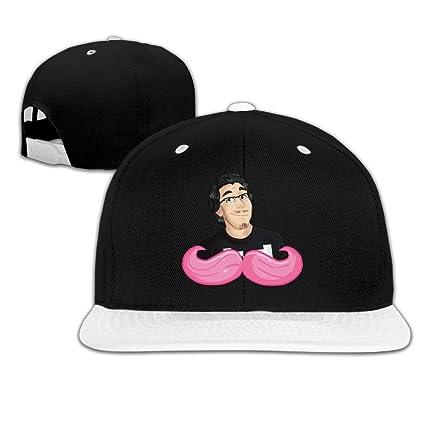 Xdevrbk Youtube Markiplier Símbolo Ajustable Unisex Blanco Snapback Gorras Hip Hop Sombreros Multicolor16