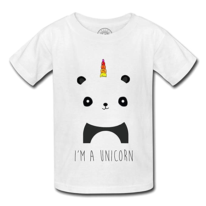 Fabulous Maglietta Per Bambini Sono Un Unicorno Disegno Horn Panda