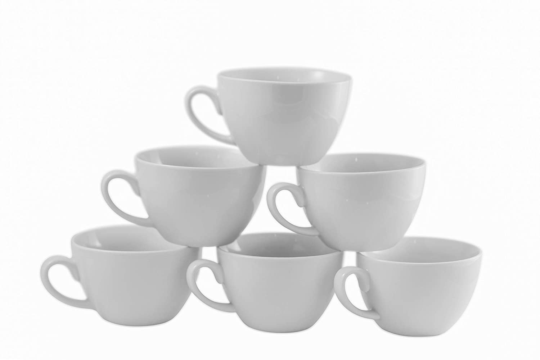 Amuse- Professional Barista Cappuccino Mug- Set of 6-10 oz.