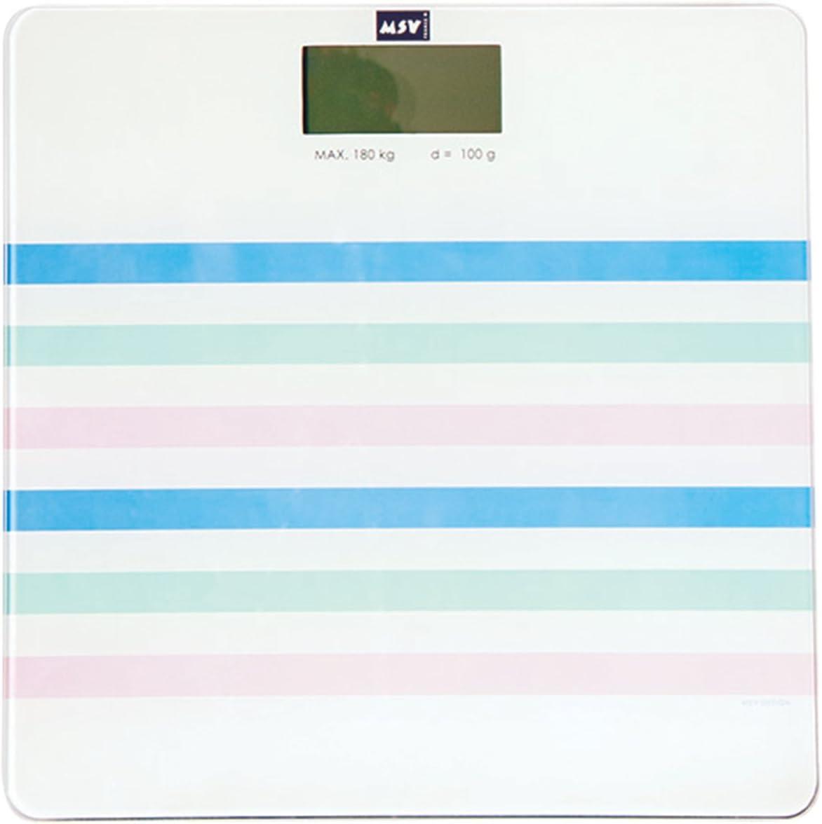 colore bianco MSV Bilancia Pesapersone
