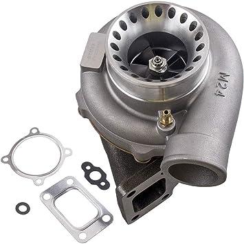 "2.5/"" Inch 3 Bolt GT28 GT30 GT35 GT35R External Gate Turbo Steel Exhaust Gasket"