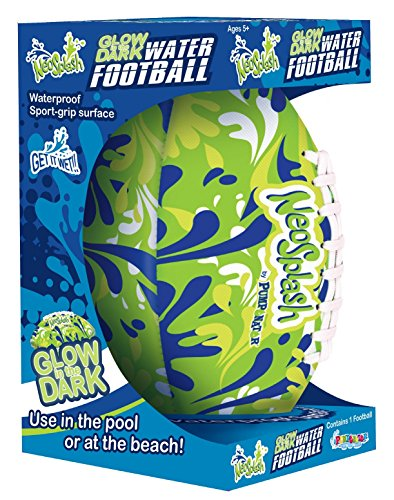 (Pumponator Neo Splash Football, Glow in The Dark)