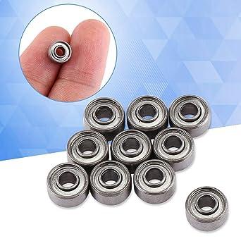 Acogedor Rodamientos, 3 * 8 * 4 mm, 693ZZ Rodamientos de Bolas en ...