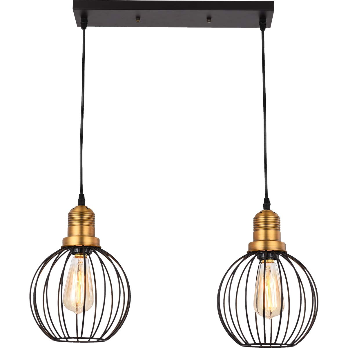 Pendant Light HOXIYA Hanging Ceiling Light Fixture PL1904