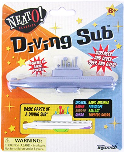 1950 Cereal Toy Baking Powder DIVING SUB Soda NEW Submarine vtg STOCKING STUFFER For Ages 6+ from Unbranded