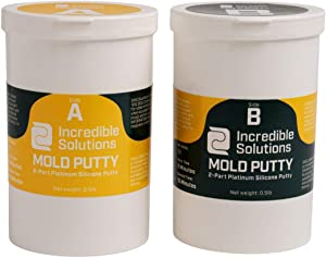 Silicone Mold Putty, Easy 1:1 Ratio for Making Molds for Casting Resin, Epoxy & More