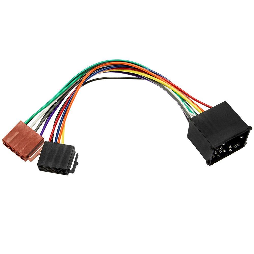 Adapter Universe Din Iso Auto Radio Adapter Kabel: Amazon.de: Elektronik