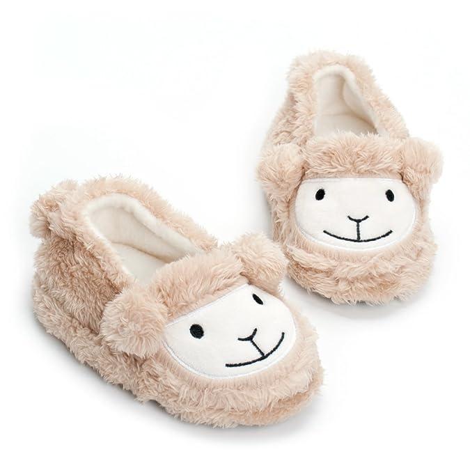Amazon.com: Estamico pantuflas de felpa de calidad superior ...