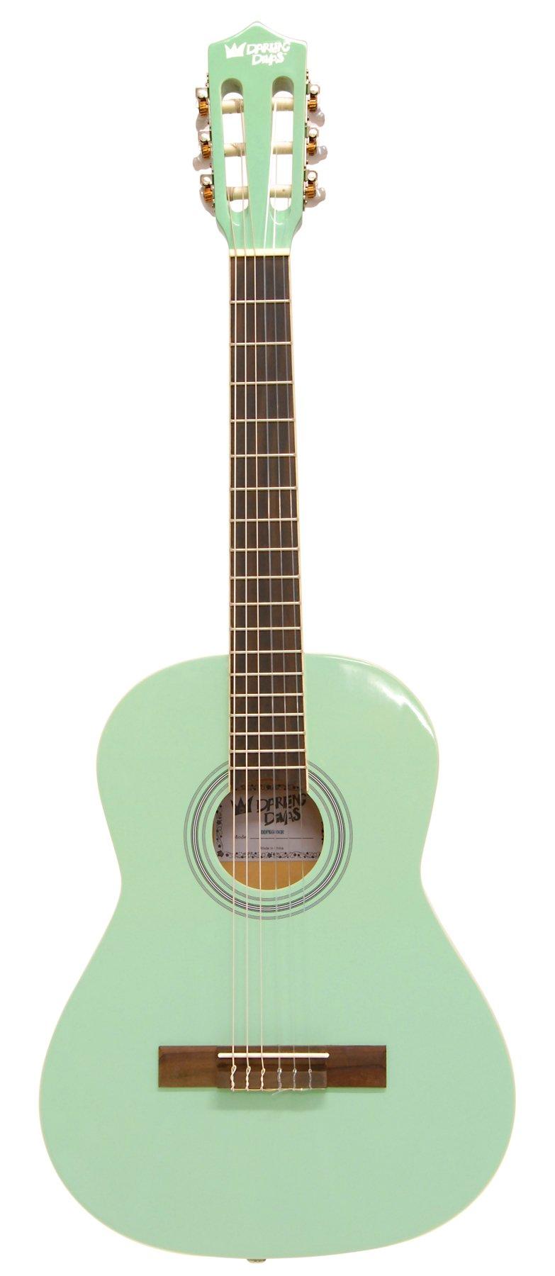 Darling Diva DDPKG03GR Acoustic Guitar, Surf Green