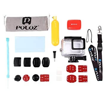 Kits Combo, PULUZ 23 en 1 kit combinado de accesorios de surf (funda de