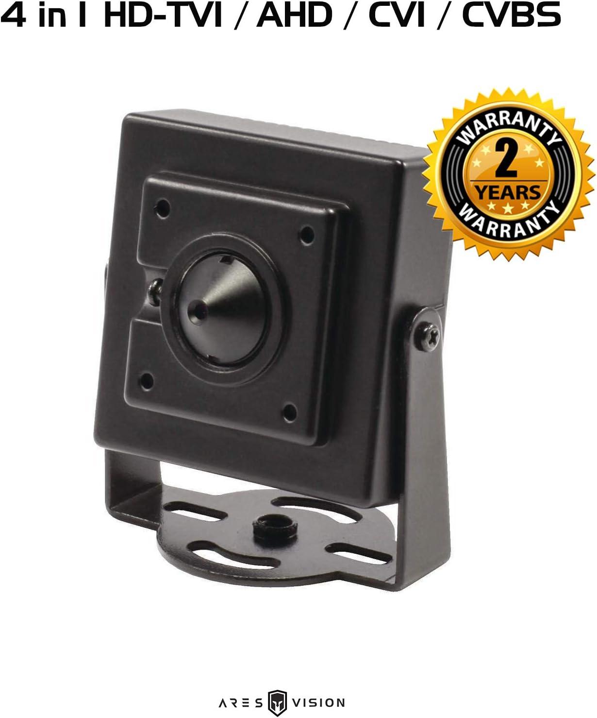 AHD Analog Spy Pinhole  5.0MP 1080p HD  3.7mm  Camera CCTV HD-TVI,CVI