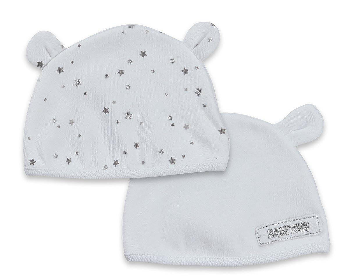 Babytown 2 Pack Baby Girls Boys Teddy Ears Hat Beanie Newborn 0-6 Months Unisex