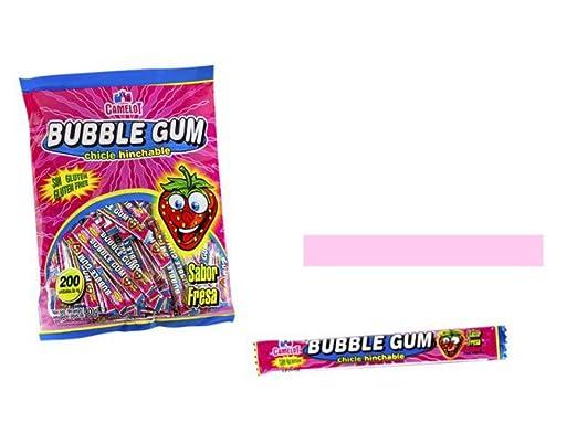 Lote 200 Bubble Gum Chicle . Golosinas . Juguetes y Regalos ...