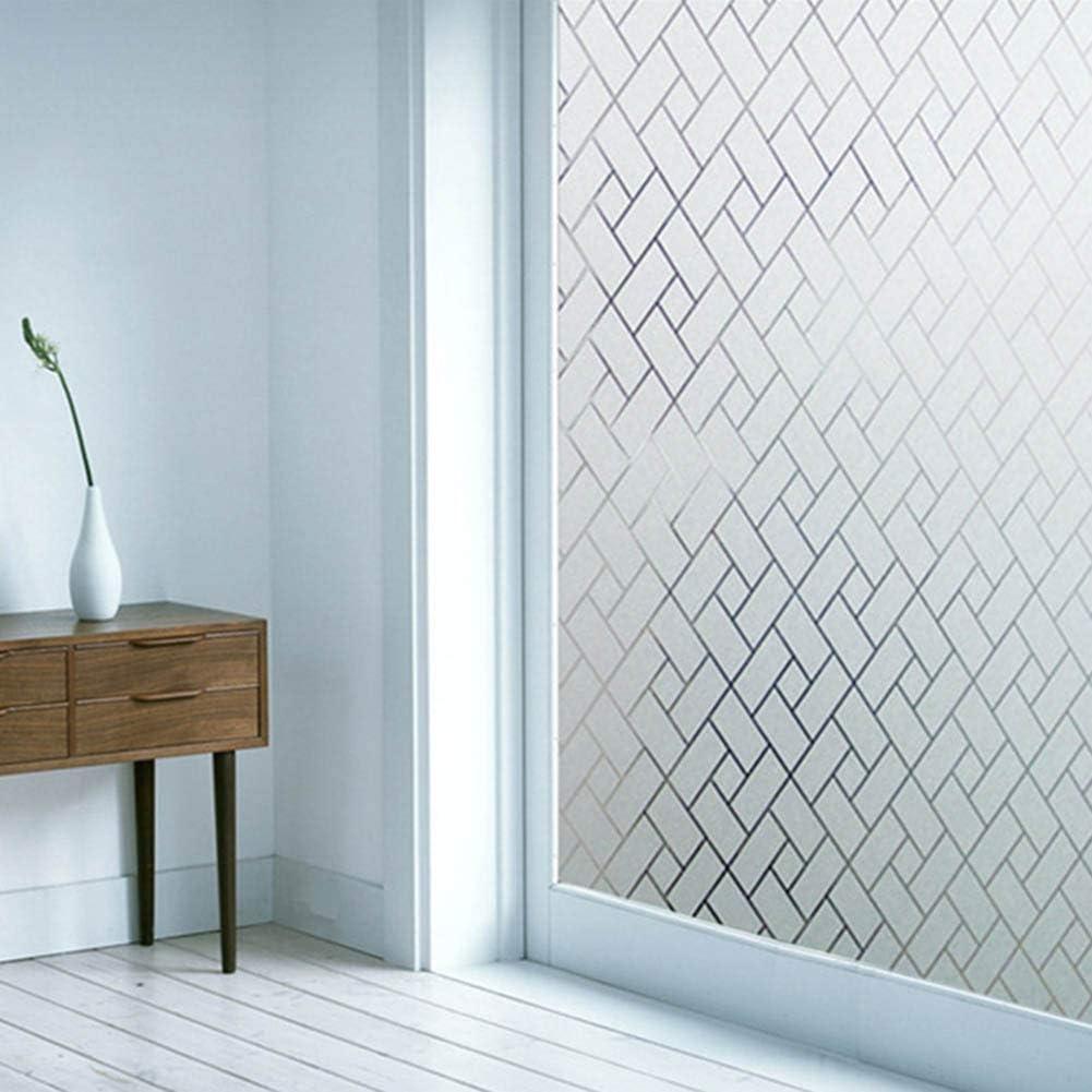 gerFogoo finestra per finestra pellicola statica rimovibile effetto reticolo arcobaleno finestra Pellicola protettiva per finestra autoadesiva