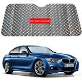 Volwco Car Front Window Sun Shade, Front Windshield Sun Shade Foldable Keep Your Vehicle Cool For Car Truck SUV