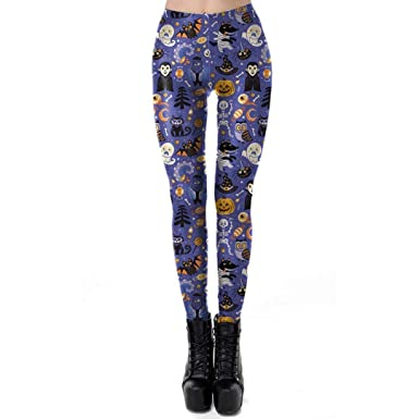 beautyjourney Leggings de Halloween df9f154565a
