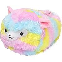 Abbraccia Novelty Cute Lamb Slip on Slippers, Winter Warm Men Women Indoor Shoe Couples House Slipper