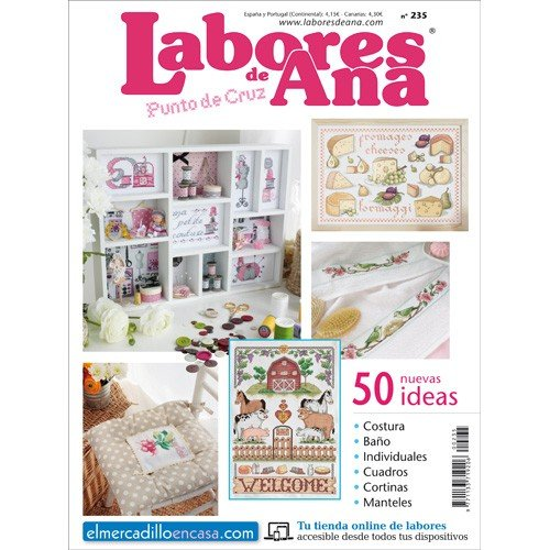 LAS LABORES DE ANA Nº 235: Amazon.es: ALTERNATIVAS PUBLICITARIAS SL: Libros