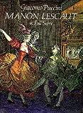 Manon Lescaut in Full Score, Giacomo Puccini, 0486285901