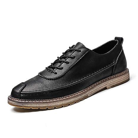 TAZAN Oxford Zapatos para Hombres Brock, Corbata Transpirable ...
