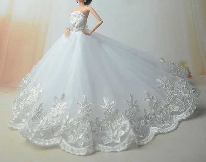 Amazon.es: Stillshine SG523 Fantasía Hecho a Mano Vestido de Novia el 11, 5