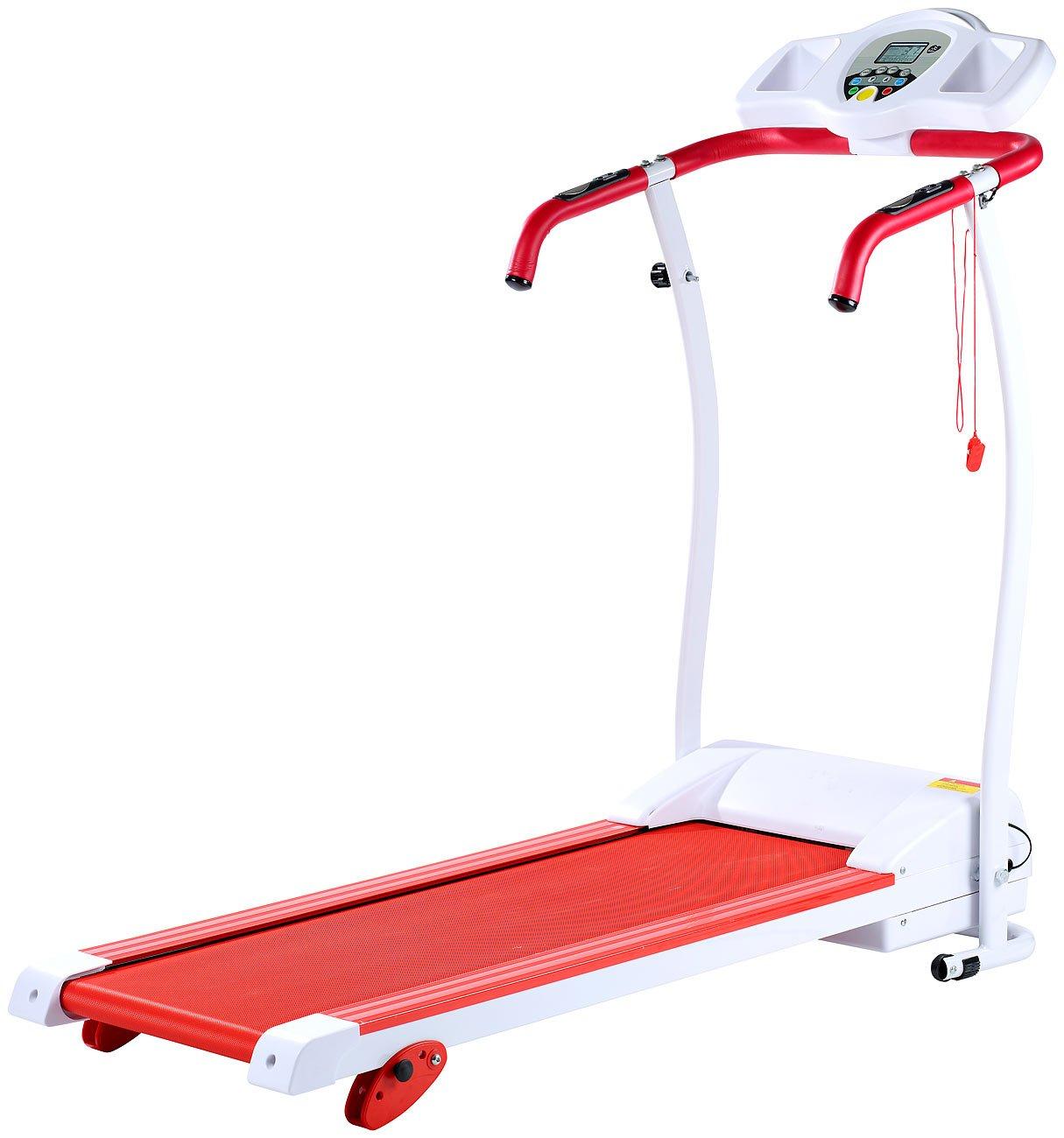 12 Programme Steigung bis 120 kg Newgen Medicals Treadmill: Premium-Laufband Laufband Heimtrainer 12 km//h 1,5 PS