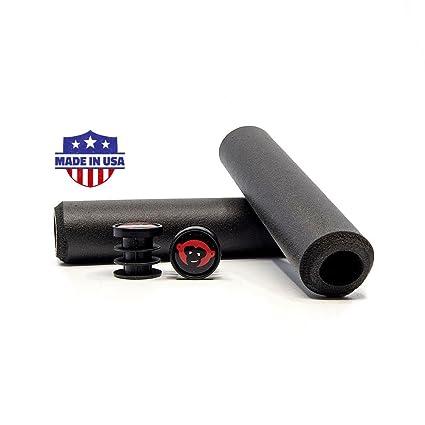 RedMonkey Sports Karv 5mm Silicone MTB Grips Black