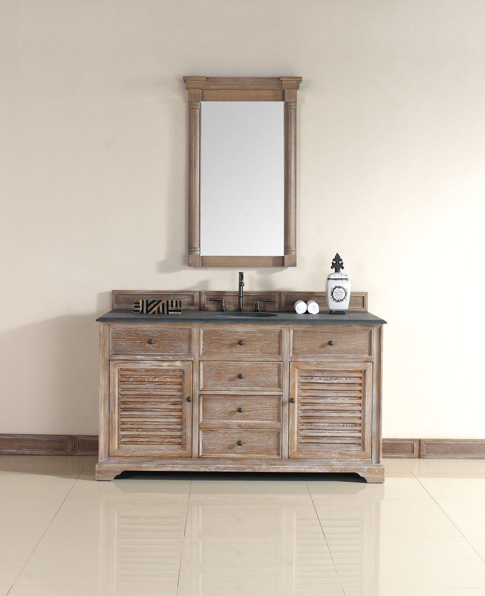 Single bathroom cabinets - Amazon Com James Martin Savannah 60 Single Bathroom Vanity In Driftwood Home Improvement