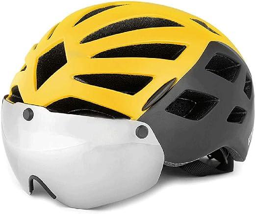S-TK Cascos Bicicleta Carretera Casco De Bicicleta Mujer Casco De ...