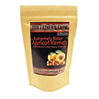 Apricot Kernels/Seeds (1 Pound / 454 grams) Our Father's Farm Extremely Bitter Certified...