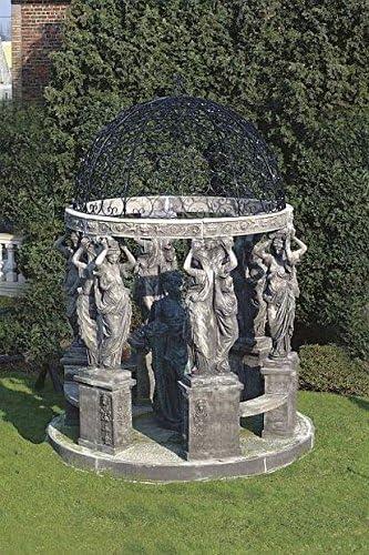 Pergola Hauser, carpa de jardín, Cenador, pergolen, piedra, diámetro 300: Amazon.es: Jardín