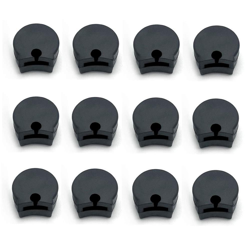 12Pcs Rubber Clarinet Thumb Rest Cushion Protector für Clarinets