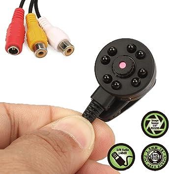 1000tvl Cctv Hd Mini Hidden Camera Mini Bullet Camera for Home Security 3.6mm 90degree