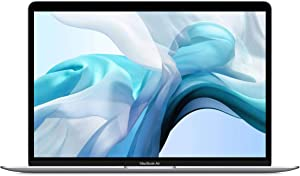 "Apple MacBook Air 13.3"" with Retina Display, 1.1GHz Quad-Core Intel Core i5, 8GB Memory, 256GB SSD, Silver (Early 2020)"