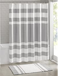 Madison Park Spa Waffle Shower Curtain With ...