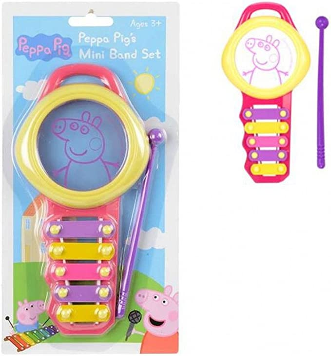 Peppa Pig Mini Band Band 1383074 conjunto de banda: Amazon.es ...