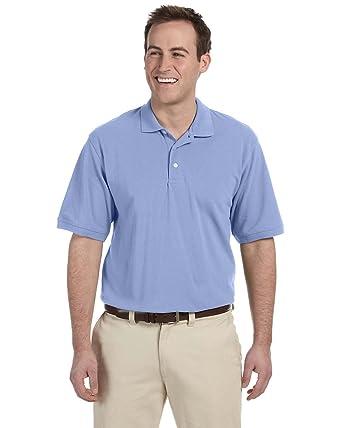 ddac3b37 Harriton Men's Easy Blend Pique Polo Shirt at Amazon Men's Clothing store: