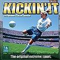 Kickin' It: Women's Soccer 2018 Wall Calendar (CA0142)