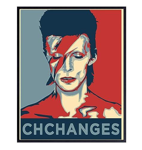 Wall Art Prints No Frames 4 David Bowie Poster Home Decor Art painting
