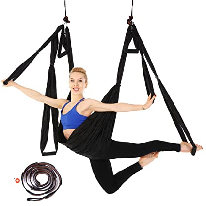 Amazon.com : Etgu Aerial Yoga Swing Ultra Strong Antigravity ...