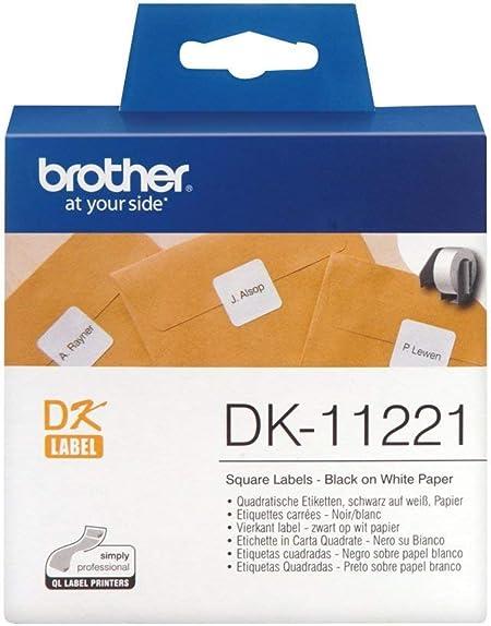 3 ROLLEN DRUCKER ETIKETTEN 50mm x 30.48m WASSERFEST für BROTHER P-T QL-650 TD