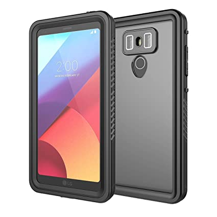 wholesale dealer ff2dc 877e0 LG G6 Waterproof Case, Moonmini Ultra Slim Waterproof Shockproof Dirtproof  Snowproof Full Body Protection Case with Touch ID and Screen Protector for  ...