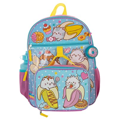 Bananya Backpack 5-Piece School Supplies Set: Clothing