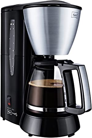 Melitta Single 5 - Cafetera (Independiente, Negro, Acero ...