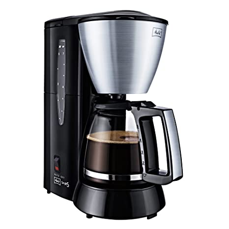 Melitta Single 5 - Cafetera (Independiente, Negro, Acero inoxidable, Goteo, De café molido, Café, 0,625L)