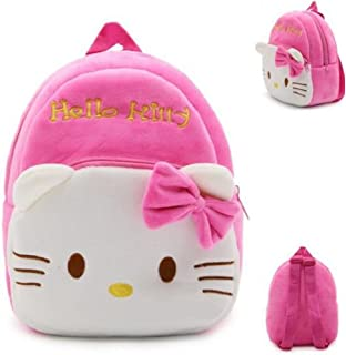 42077db451 New Cute Plush Hello Kitty Mini Backpack for young Students Ages 3-5 Years  old
